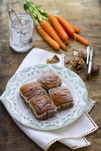 Muffin carote e zenzero