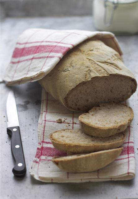Pane al siero di latte