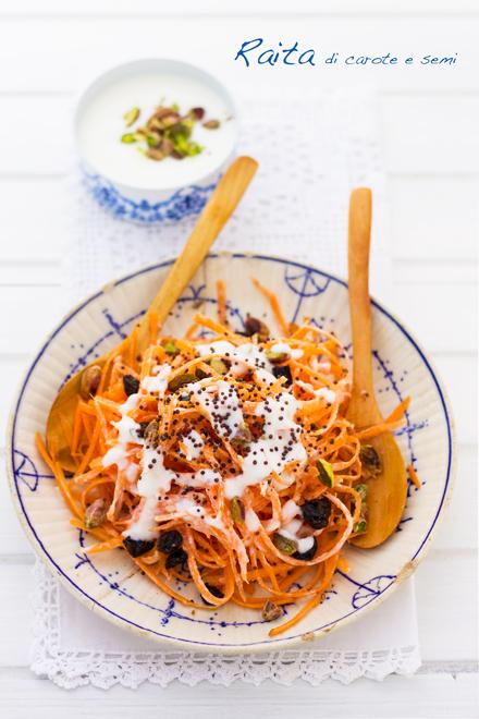 Raita di carote e semi