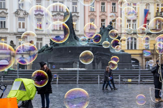 Una 'flânerie' a Praga