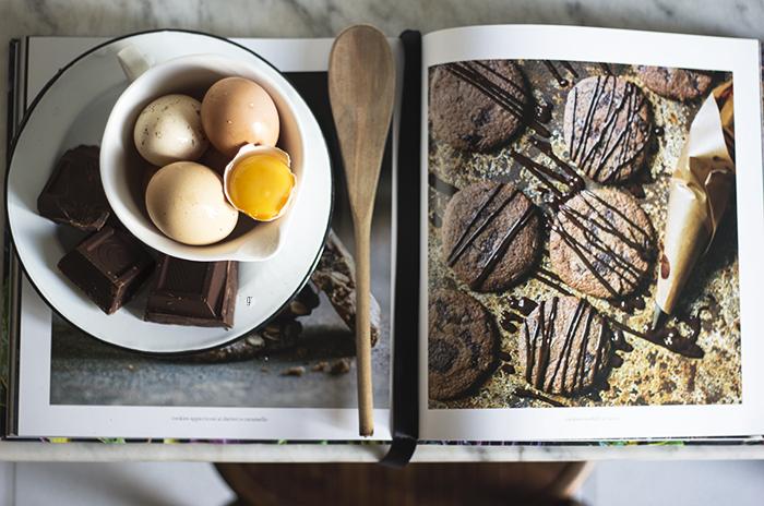 Cookies al cioccolato crudo