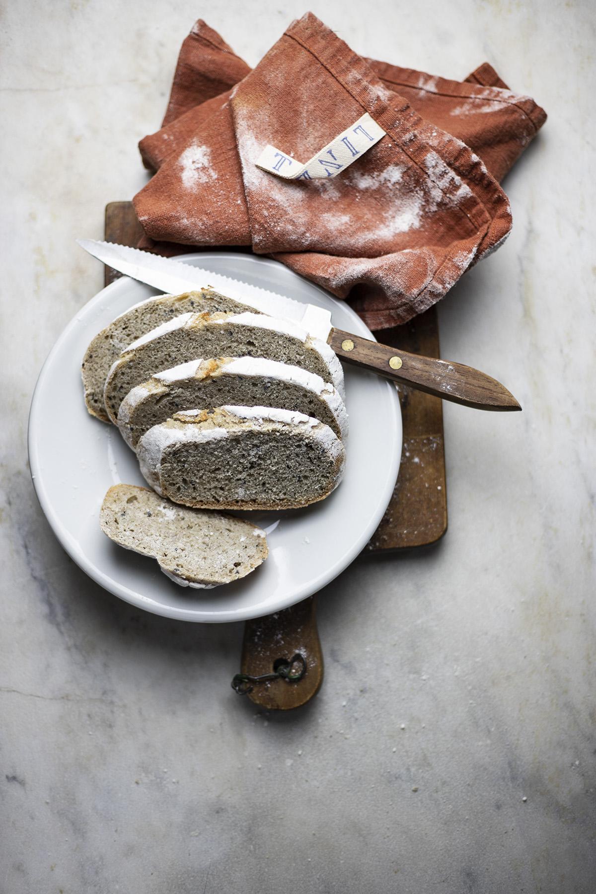 pane farro e grano saraceno