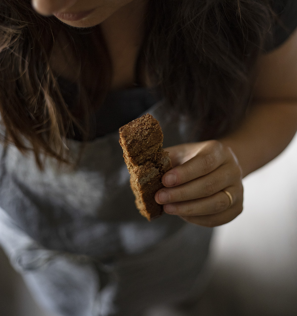 sacher cookie portrait