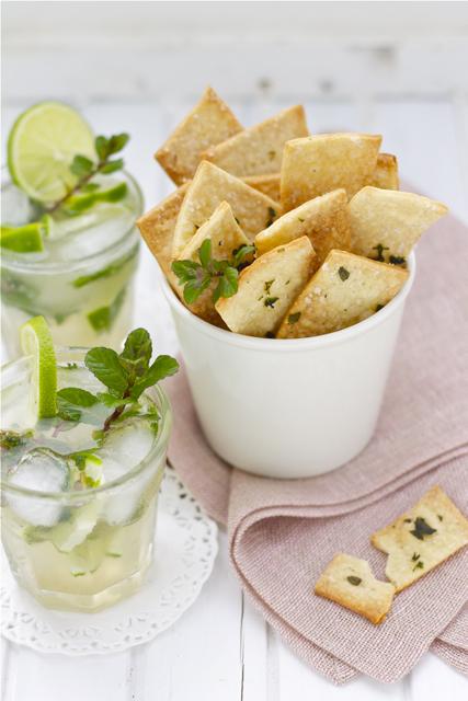 Crackers mojito