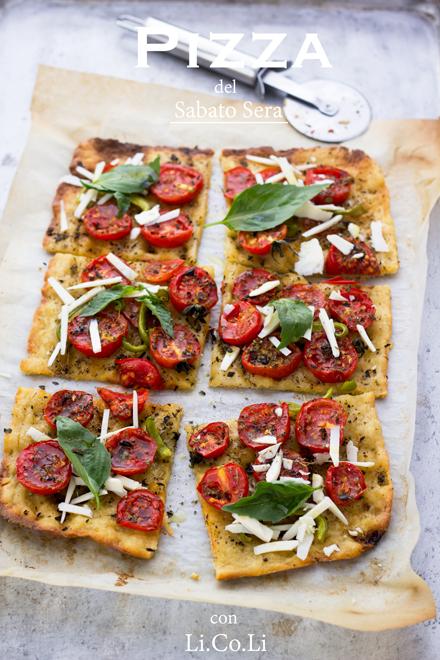 Pizza con Li.Co.Li