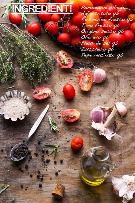 Pomodorini confit e una 'chanson'