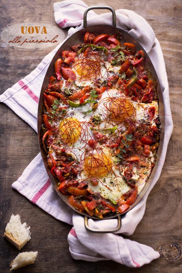Quattro uova alla pizzaiola per un quattro in matematica...
