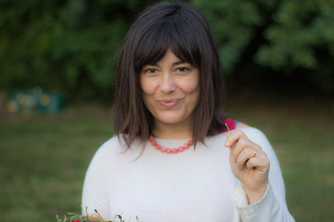 Ghiaccioli variegati yogurt e ciliegie (quelle di Rolando!)