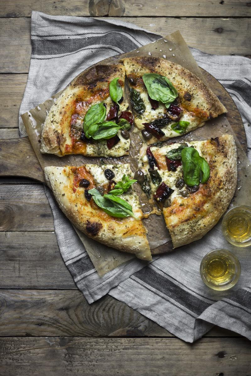 Pizza con licoli