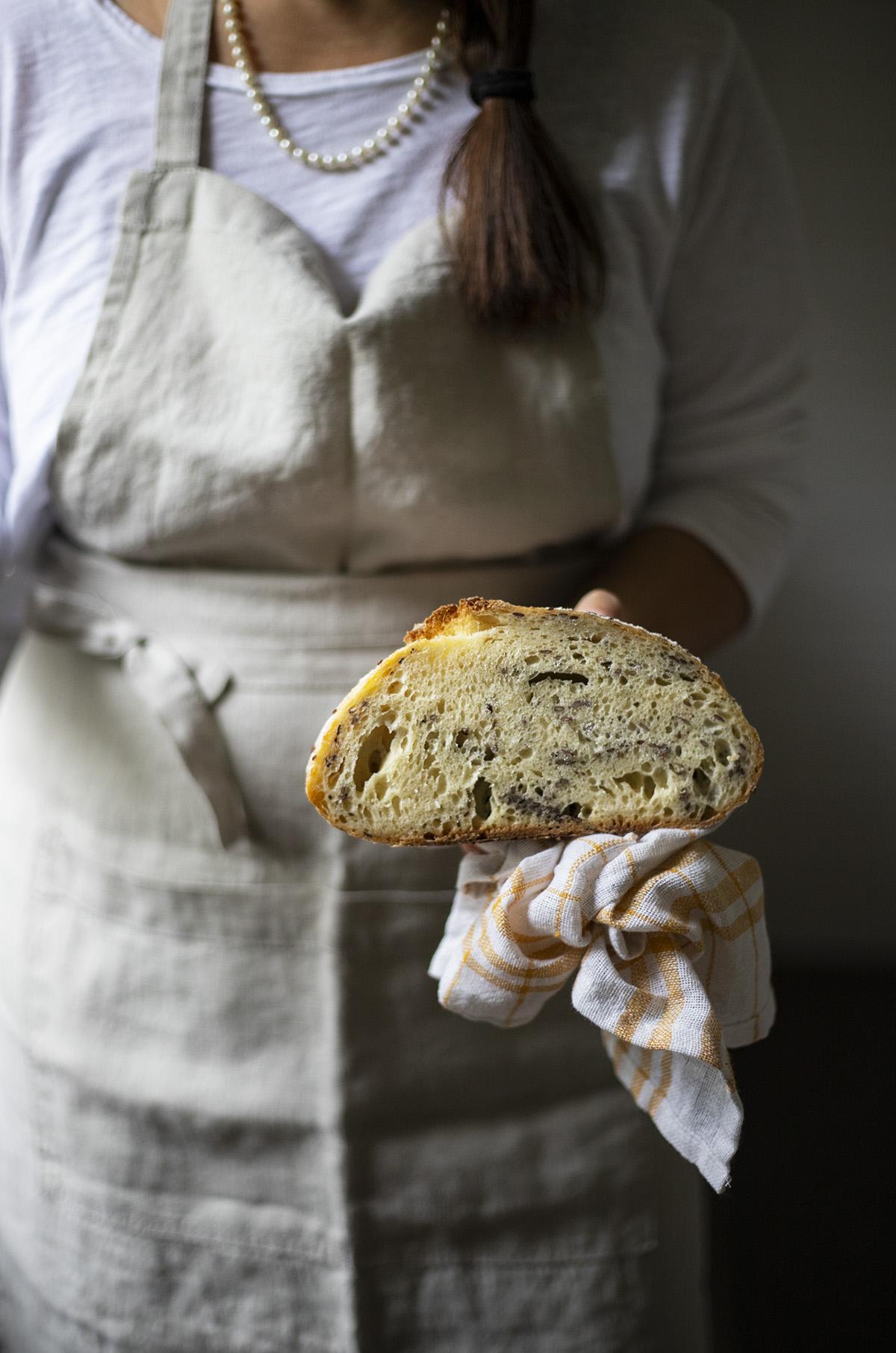 Pane con farina di mais
