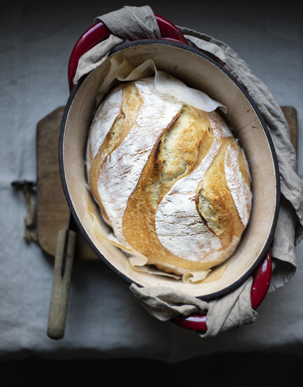 pane al mais in cocotte